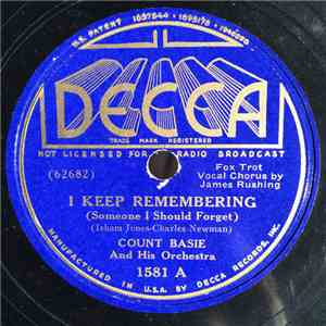 Count Basie And His Orchestra - I Keep Remembering (Someone I Should Forget) download free